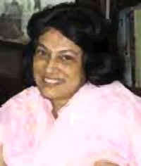 Mrs. Ingrid de Rozario was an English teacher at St. Xavier's High School, Loyola Hall, Ahmedabad.