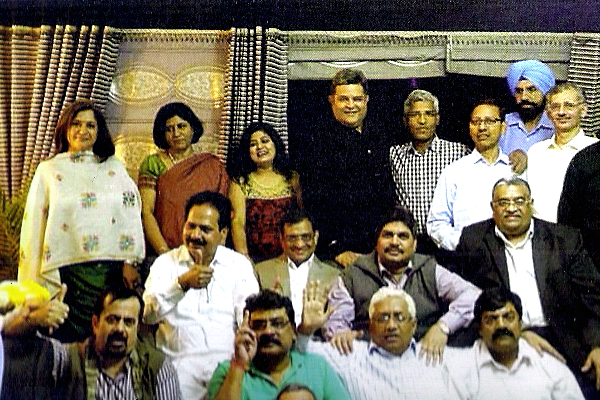 1986 batch of the Indian Revenue Service at a get-together.