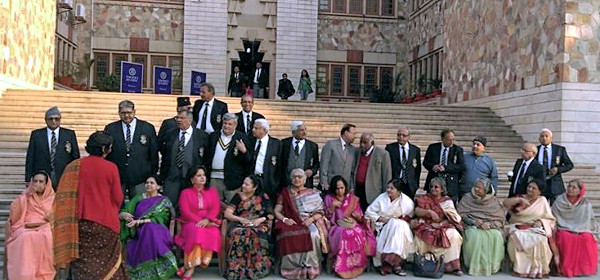 Reunion of the 1964 batch of St. Xavier's School, Jaipur on the occasion of their golden jubilee in 2014.