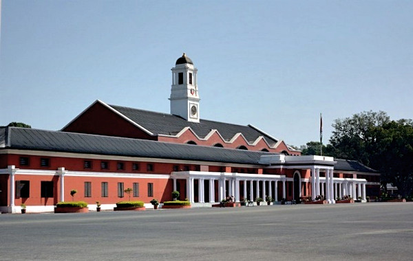 Chetwode Hall at the Indian Military Academy (IMA), Dehradun.